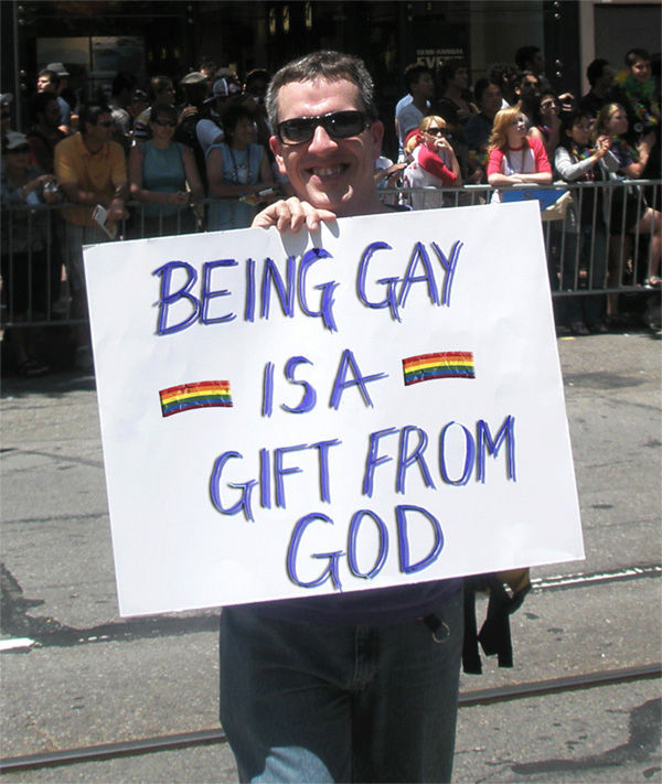 Being Gay Is A Gift From God