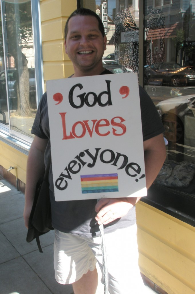 God Loves Everyone - Pride